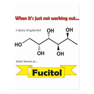 Fucitol Organic molecule Postcard