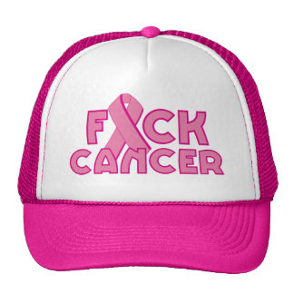 Fuck Breast Cancer Trucker Hat