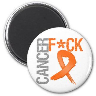 Fuck Cancer - Leukemia 2 Inch Round Magnet