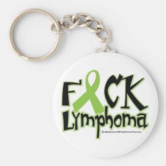 Fuck Lymphoma Keychain