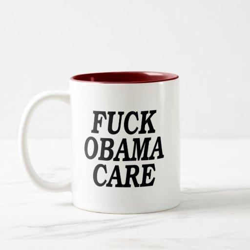 Fuck Obamacare, mug