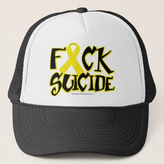 Fuck Suicide Trucker Hat