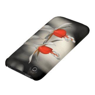 Fucsia dual iPhone 3 carcasa