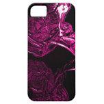 Fucsia líquido impresionante iPhone 5 Case-Mate coberturas