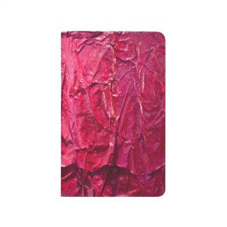 Fucsia sublime cuaderno grapado