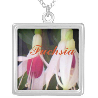 Fucsias blancos de la frambuesa joyeria personalizada