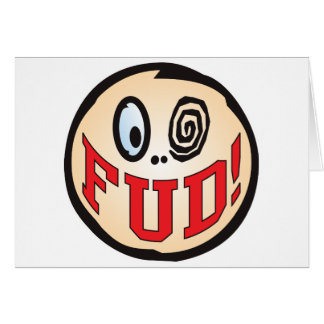 FUD Text Head Card