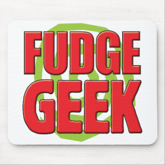 Fudge Geek Mouse Pad