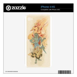 Fudo Decals For iPhone 4