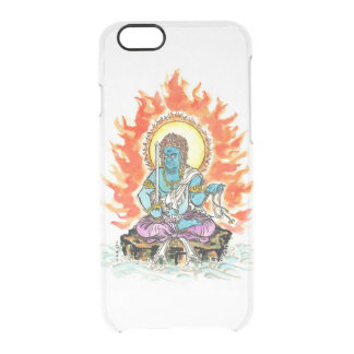 Fudo Myo-O/firm discernment throne image Clear iPhone 6/6S Case