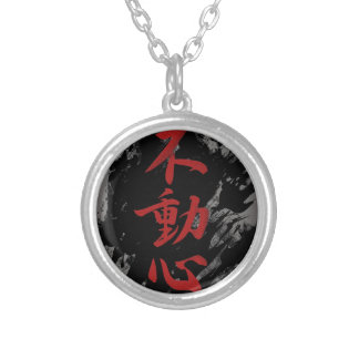 Fudoshin Silver Plated Necklace