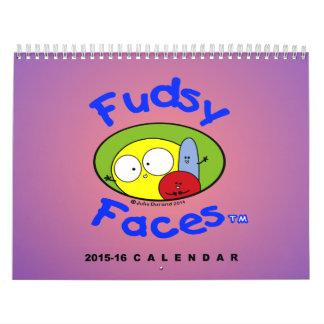 """Fudsy Faces-Calendar"", 2015-16 Calendar"
