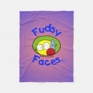 """""""Fudsy hace frente"""" - al Manta-Logotipo del paño Manta De Forro Polar"""