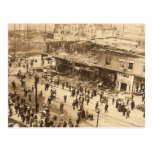 Fuego 1910 de Seattle Tarjeta Postal