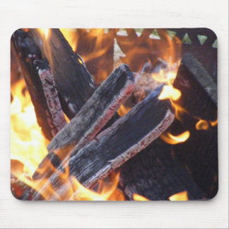Fuego 1 del campo mouse pads