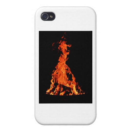 Fuego 1 iPhone 4/4S carcasas