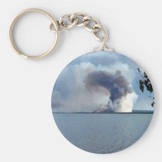 Fuego 2005 de la cala del condado de King Llaveros