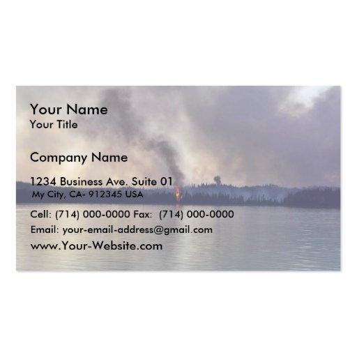 Fuego 2005 de la cala del condado de King Tarjeta De Negocio