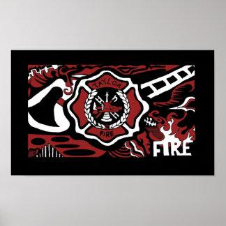 fuego 3 póster