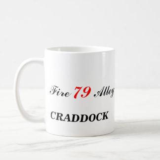 Fuego 79 callejón CRADDOCK fuego CRADDOCK 79 Tazas De Café