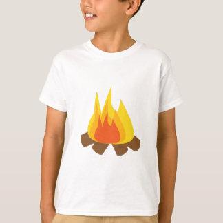 Fuego al aire libre playera