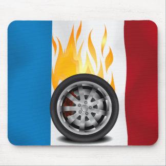 Fuego, aleación - Francia Alfombrilla De Ratones