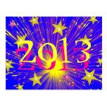"""Fuego artificial """"2013"""" postales"""