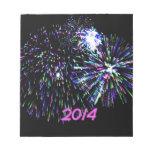fuego artificial 2014 bloc de papel