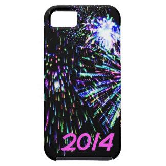 fuego artificial 2014 iPhone 5 Case-Mate carcasa