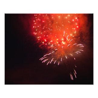 Fuego artificial anaranjado fotografías