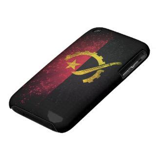 Fuego artificial; Bandera de Angola iPhone 3 Protectores