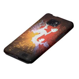 Fuego artificial; Bandera de Bhután Galaxy S2 Carcasa