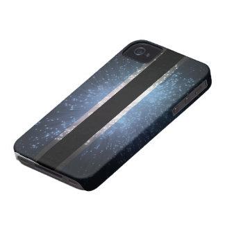 Fuego artificial de la bandera de Botswana iPhone 4 Case-Mate Coberturas