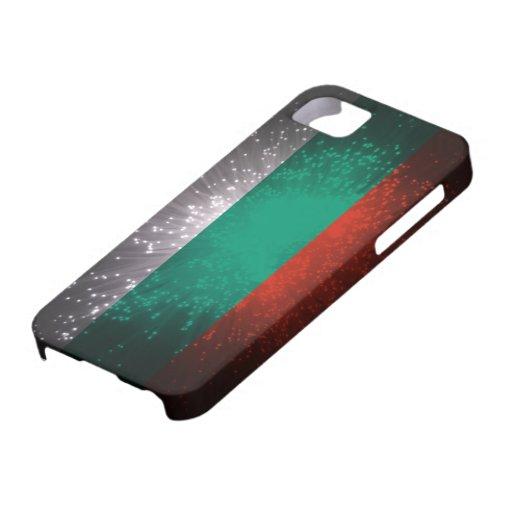 Fuego artificial de la bandera de Bulgaria iPhone 5 Coberturas