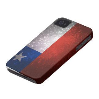Fuego artificial de la bandera de Chile iPhone 4 Protectores