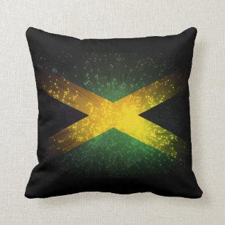 Fuego artificial de la bandera de Jamaica Almohadas