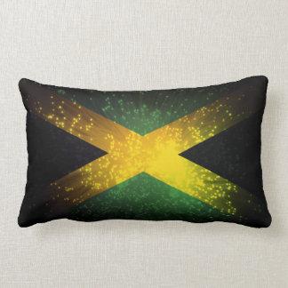 Fuego artificial de la bandera de Jamaica Cojines