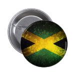Fuego artificial de la bandera de Jamaica Pin Redondo 5 Cm