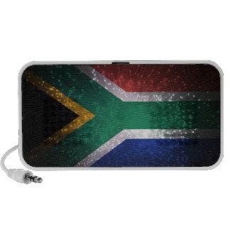 Fuego artificial de la bandera de Suráfrica iPhone Altavoz