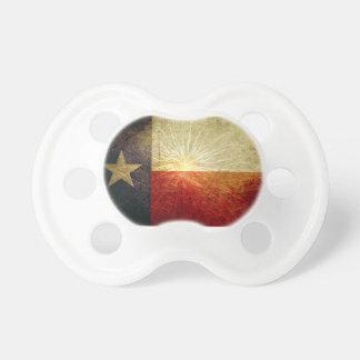 Fuego artificial de la bandera de Tejas Chupetes De Bebe