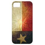 Fuego artificial de la bandera de Tejas iPhone 5 Cárcasa