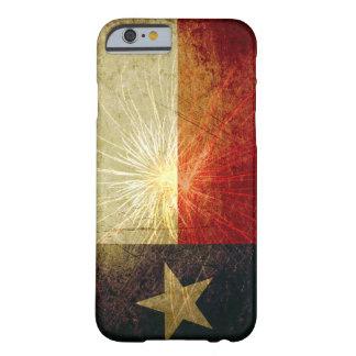 Fuego artificial de la bandera de Tejas Funda Para iPhone 6 Barely There