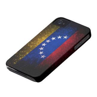 Fuego artificial de la bandera de Venezuela Case-Mate iPhone 4 Coberturas