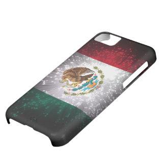 Fuego artificial de la bandera mexicana