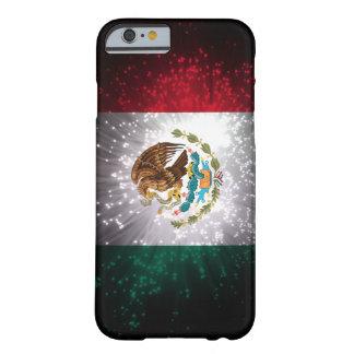Fuego artificial de la bandera mexicana funda de iPhone 6 barely there