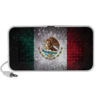 Fuego artificial de la bandera mexicana PC altavoces