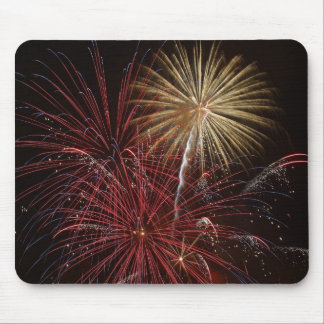 Fuego artificial mouse pads