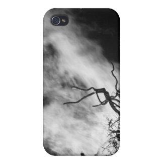 Fuego blanco iPhone 4/4S carcasa