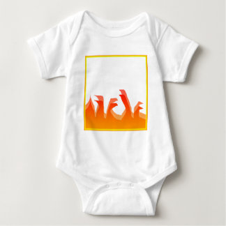 Fuego Body Para Bebé