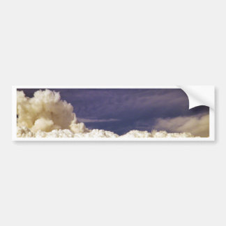 Fuego Clouds_ de la estación de California Pegatina Para Auto